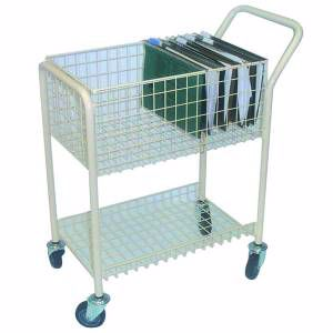Picture of Mail File Trolley 2 Shelf